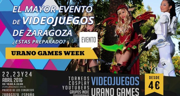 Contacto Videojuegos y Cosplay Urano Games Week