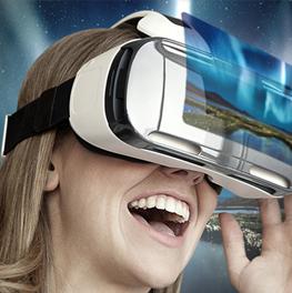 Gafas de Realidad Virtual Gear VR de Samsung