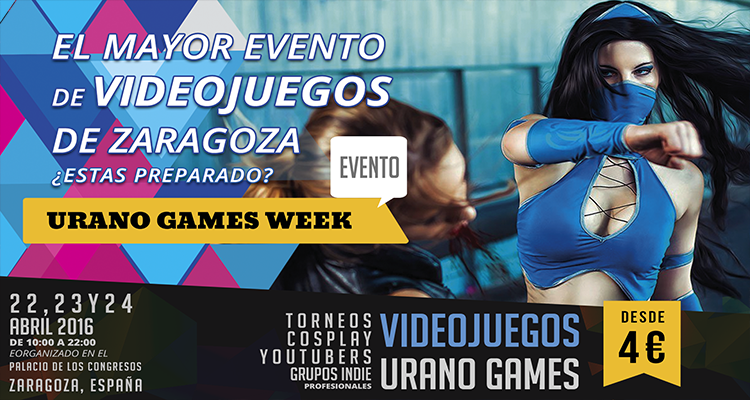 Wallpaper Urano Games Week Zaragoza