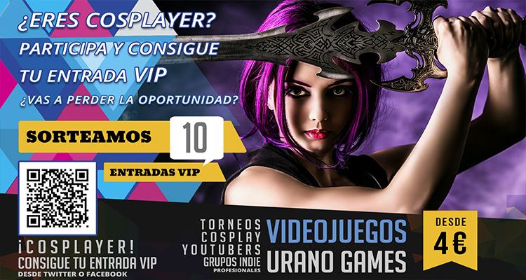 Invitación Cosplayers - Cosplay Videojuegos