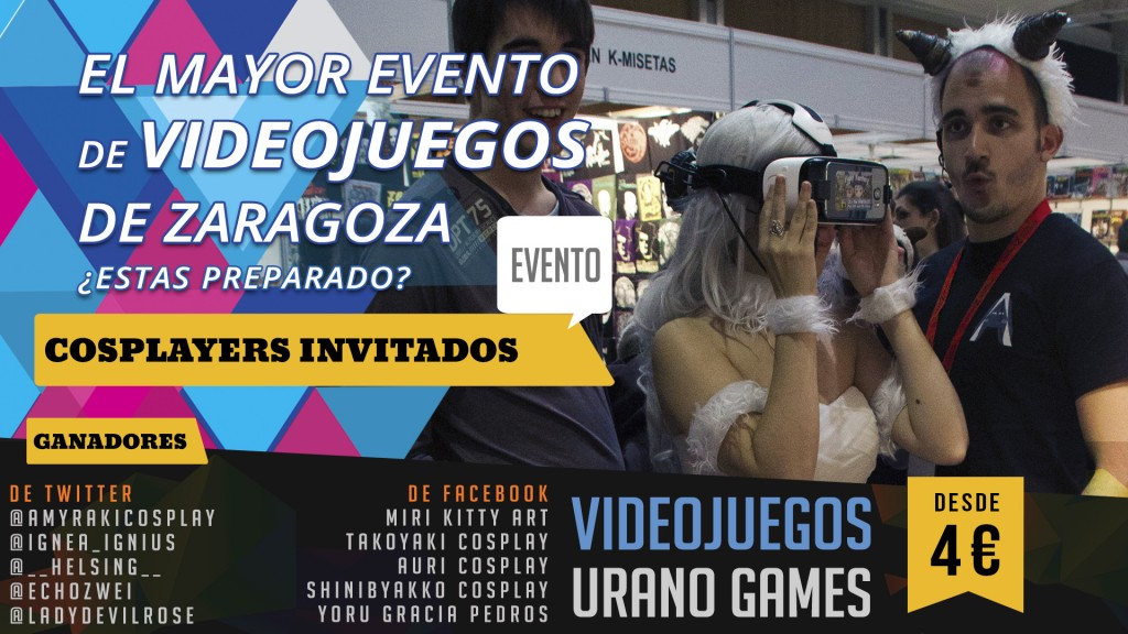 Concurso Cosplay en Zaragoza Videojuegos
