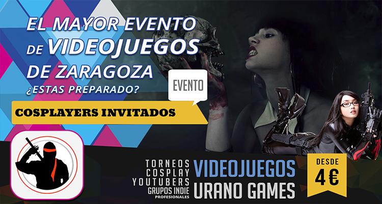 Cosplay y Videojuegos en Zaragoza