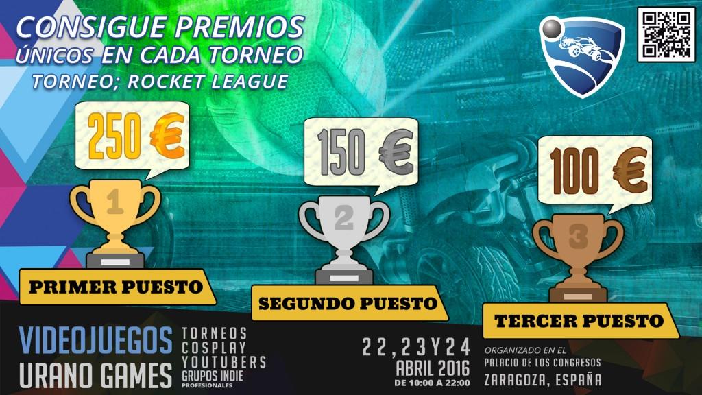 Premios Rocket League Urano Games