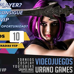 Cosplay Sección - Zaragoza y Videojuegos | Urano Games