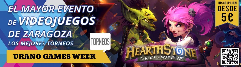 Torneos HearthStone Urano Games Banner