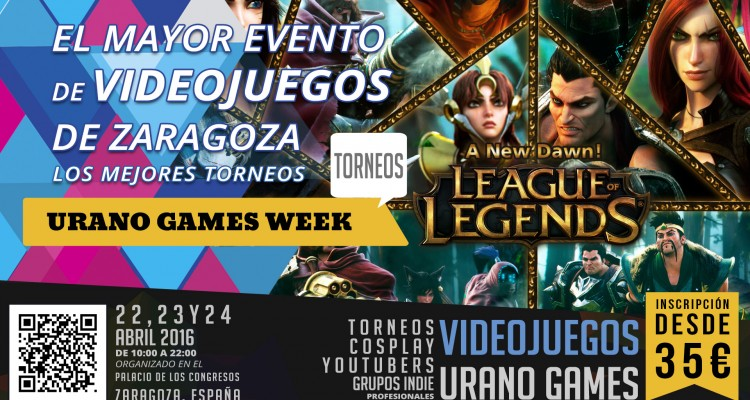 League of Legends Banner Torneos