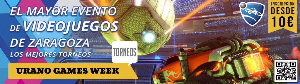 Torneos Rocket League Urano Games Banner
