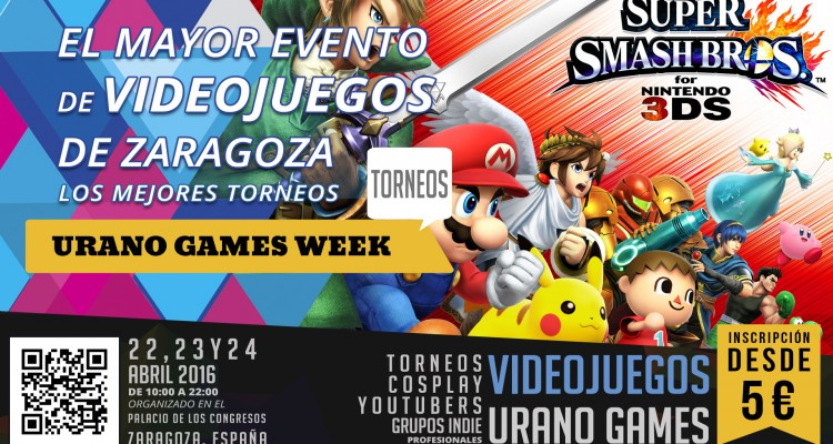 Torneos Smash Bros Urano Games