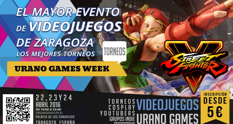 Torneos Street Fighter V Urano Games