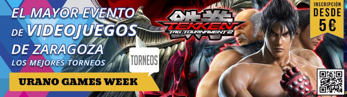 Torneos Tekken Tag Tournament 2 Banner Urano Games