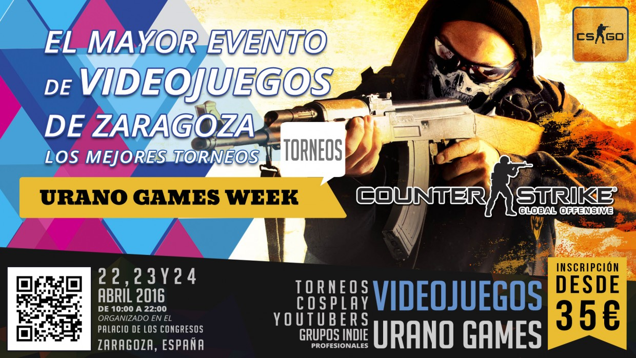 Torneos Counter Strike Global Offensive Urano Games