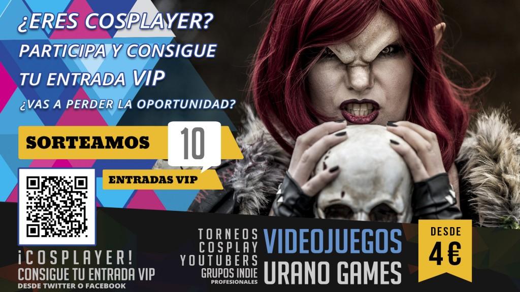 Cosplayer Concurso y Videojuegos en Zaragoza