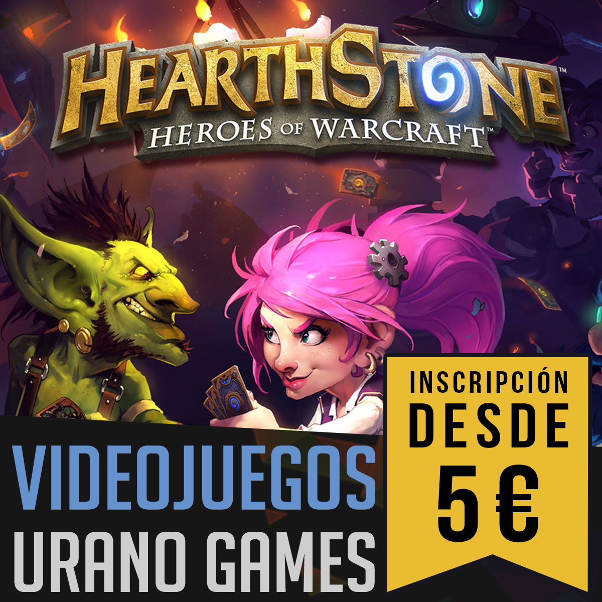 Lista Torneos de Videojuegos e Inscripciones | Urano Games