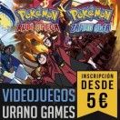 Inscripciones Torneos Pokemon Urano Games