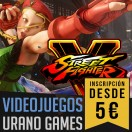 Inscripciones Street Fighter V Urano Games