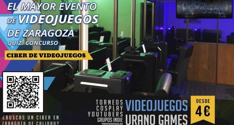 Iron Byte Ciber de Zaragoza en Urano Games Week