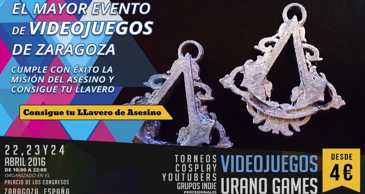 Llavero del Asesino en Urano Games Week