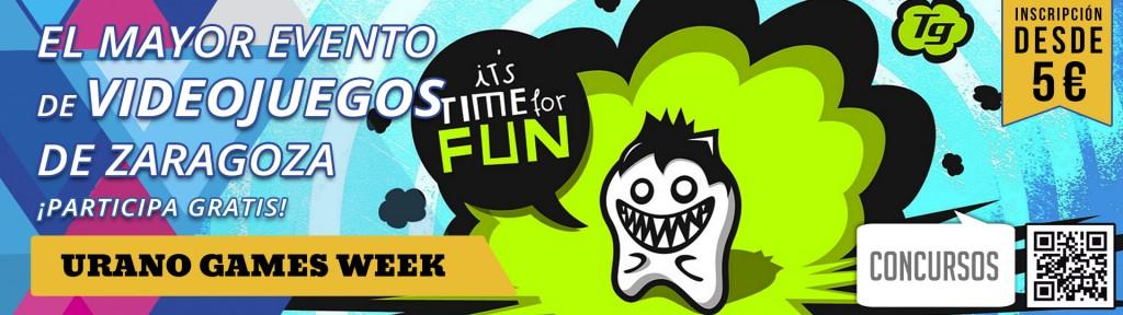 Concursos Urano Games Week banner