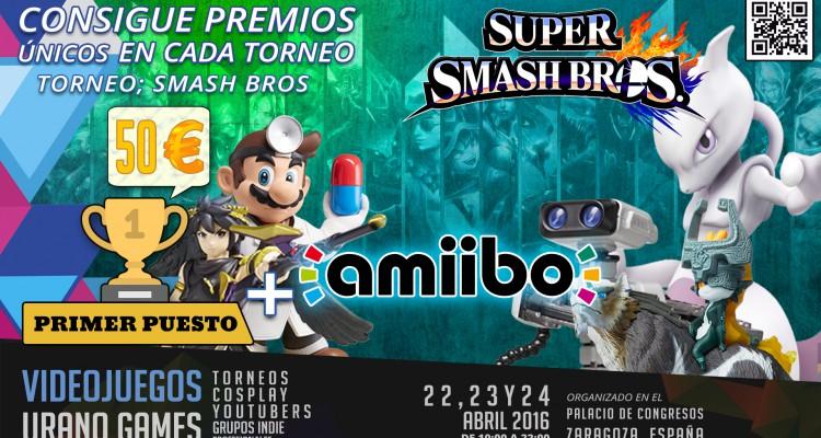 Premios Torneo Smash Bros Comando 3DS Urano Games