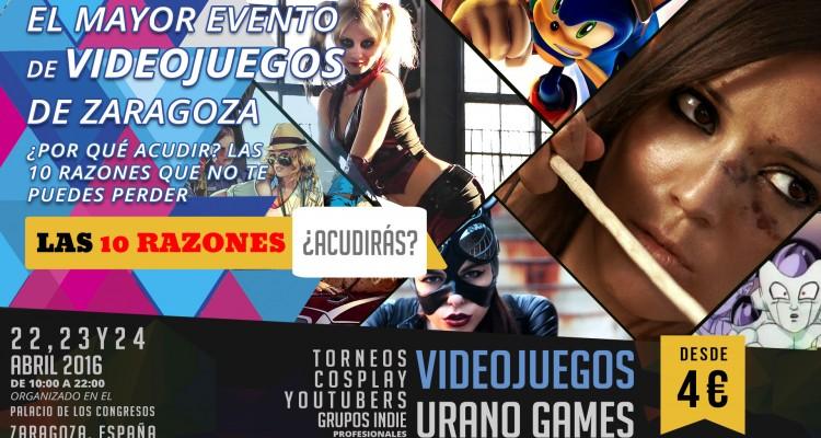 10 Razones para acudir a Urano Games Wallpaper