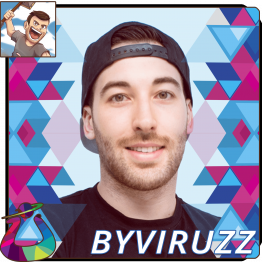 ByViruzz Influencer y Youtuber en Urano Games.