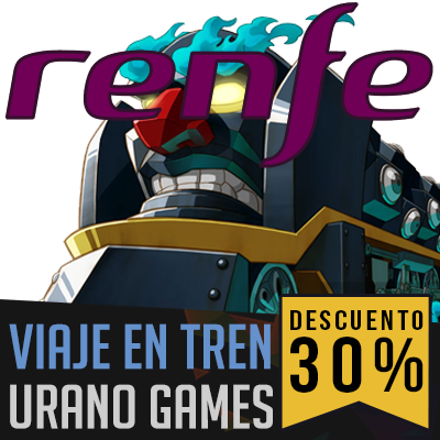 Descuento Renfe Urano Games Week