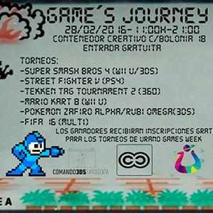 Games Journey II: Torneos Videojuegos | Urano Games
