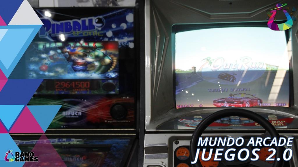 Juegos 2 punto 0 Arcade Retro Clasicos Zaragoza
