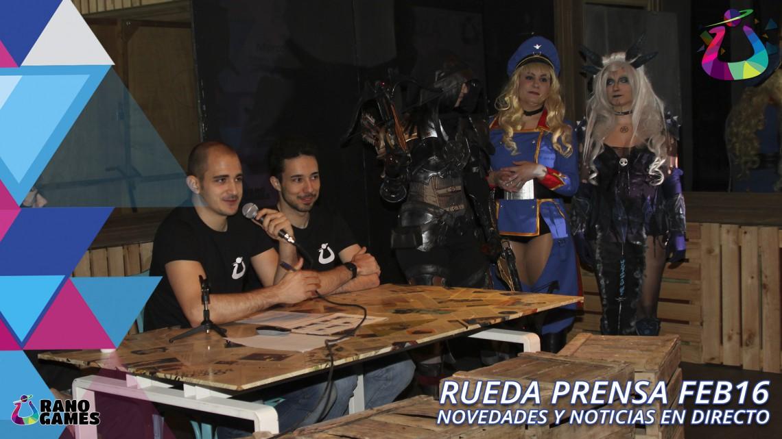 Rueda Prensa Febrero 2016 Urano Games
