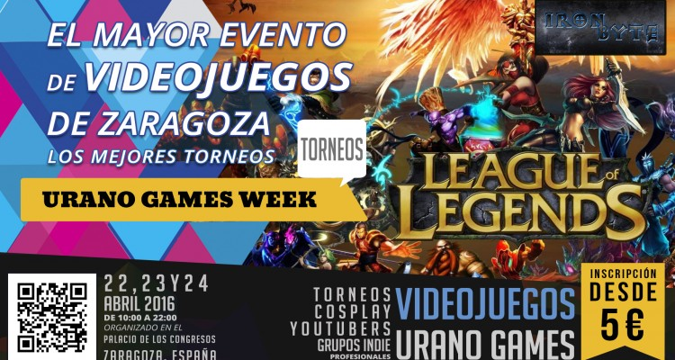 WallPaper Torneo Apertura League of Legends Iron Byte