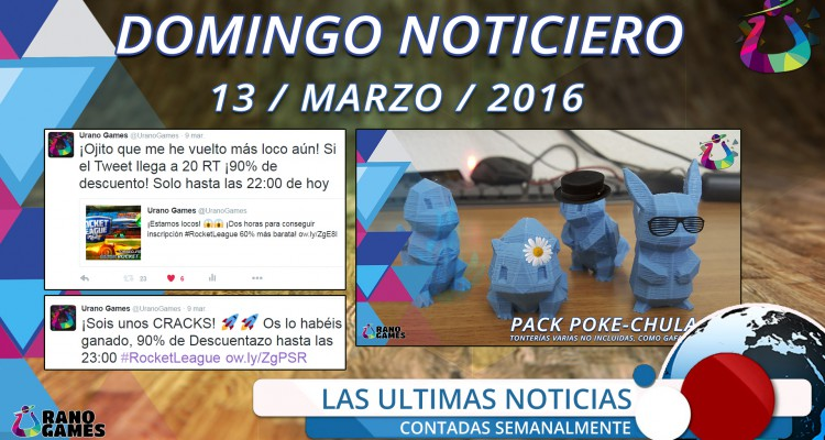 Domingo Noticiero Semana Ofertas Urano Games
