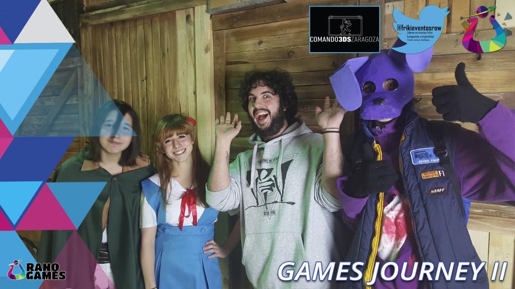 Games Journeys II Torneos Comando 3DS