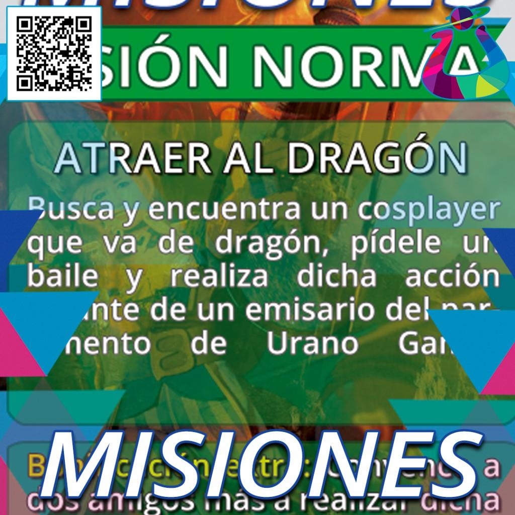 Gamificación Cosplay Misiones Urano Games