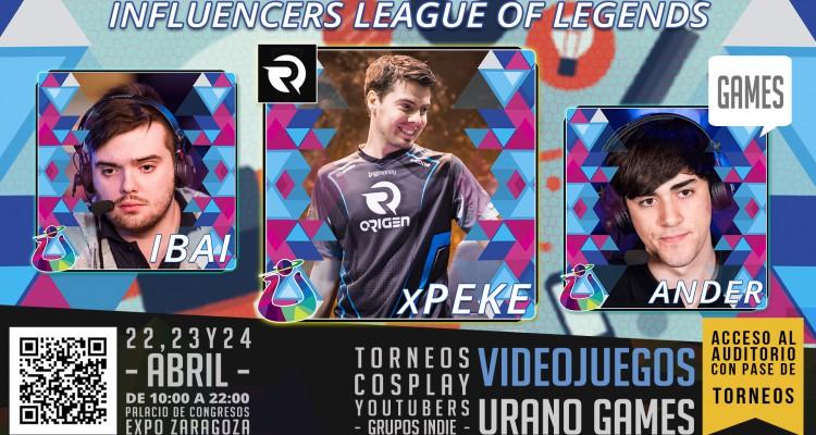 Influencers LOL Domingo 24 de Abril League of Legends LOL