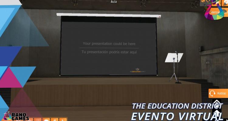 The Education District Logo Evento Virtual Imagen