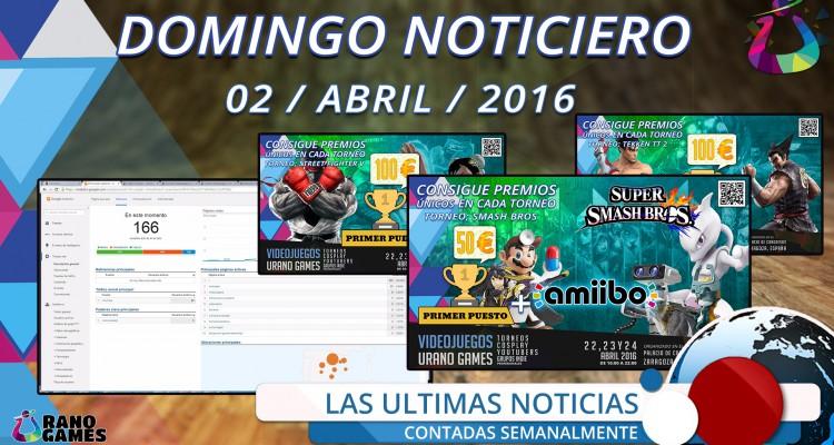 Domingo Noticiero Estadísticas Urano Games