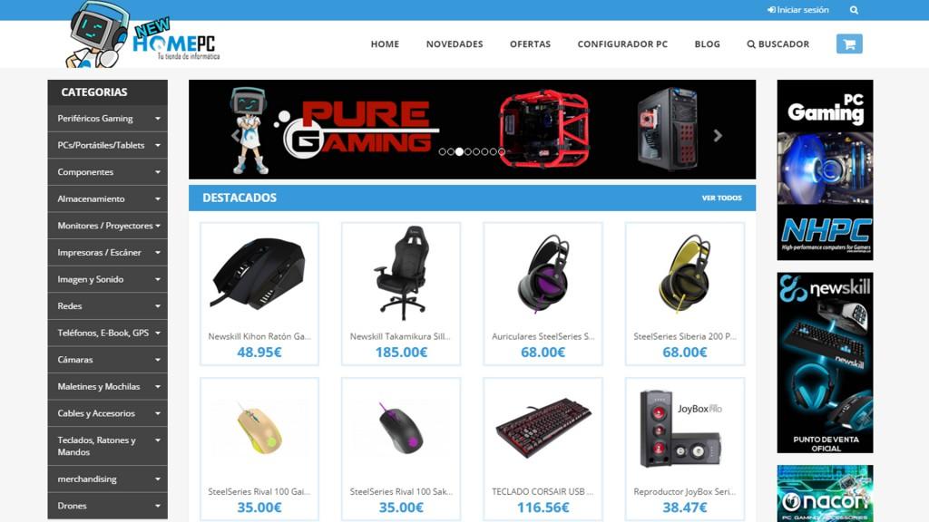 New Home PC Zaragoza talleres Urano Games