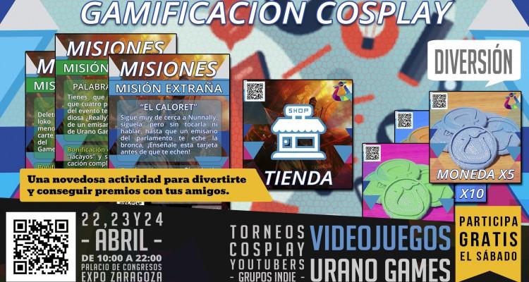 Wallpaper Gamificación Zaragoza en Urano Games