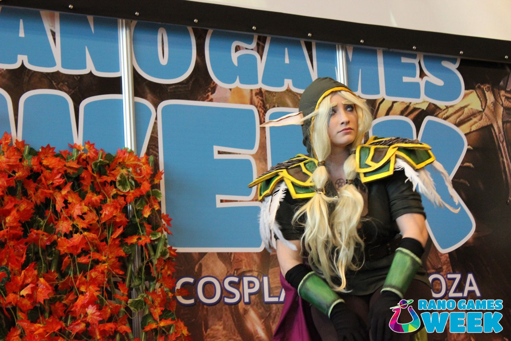 Cosplay Urano Games Week 2016 Evento Videojuegos y Cosplay Zaragoza