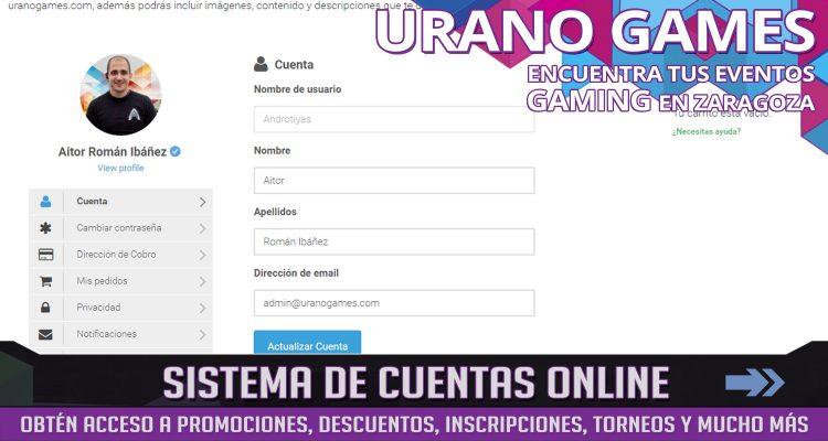 Cuentas Online y Cuentas Web Imagen del Blog Urano Games
