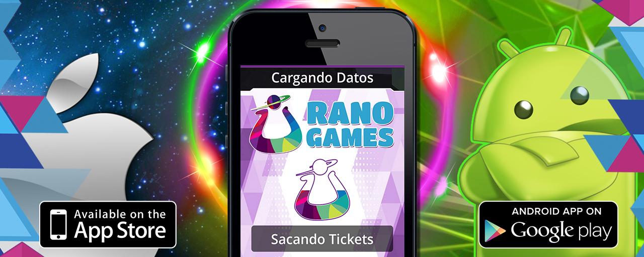 Banner Aplicación móvil de Android e IOS Urano Games