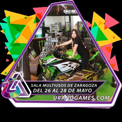 Banner Expositor A Medida de Urano Games Week 2017