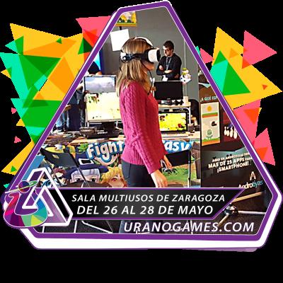 Banner Expositor Indie de Urano Games Week 2017