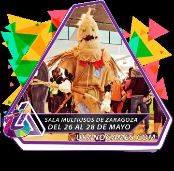 Publicidad Cosplayer Cosplay Zaragoza Urano Games