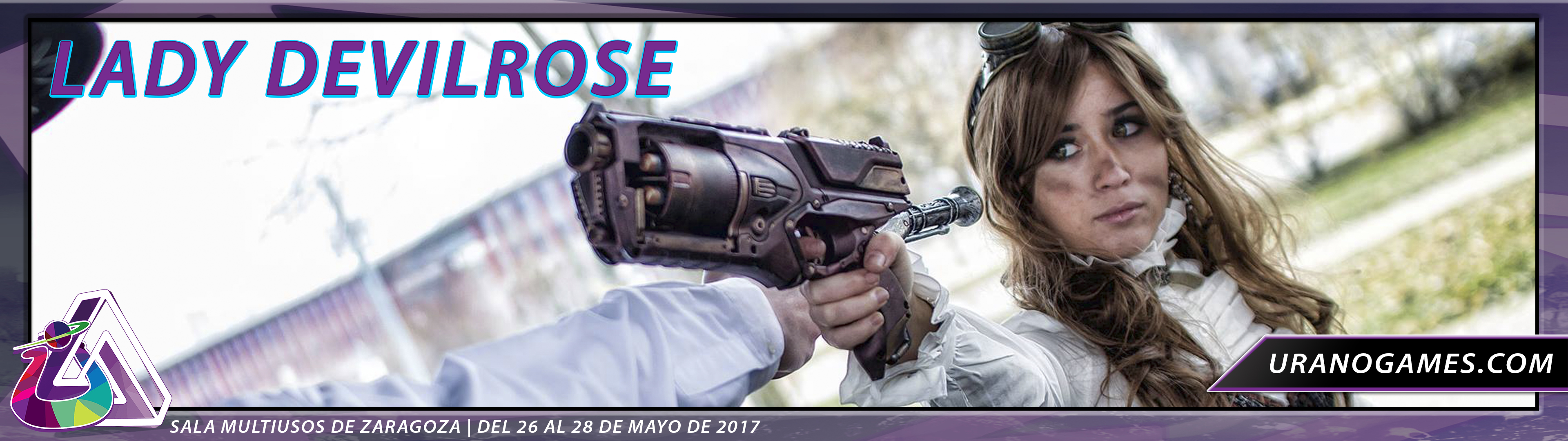 Concurso Cosplay Lady Devilrose Urano Games