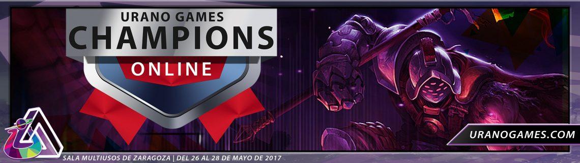 Champions Liga ONLINE Inscripción UGC de Urano Games
