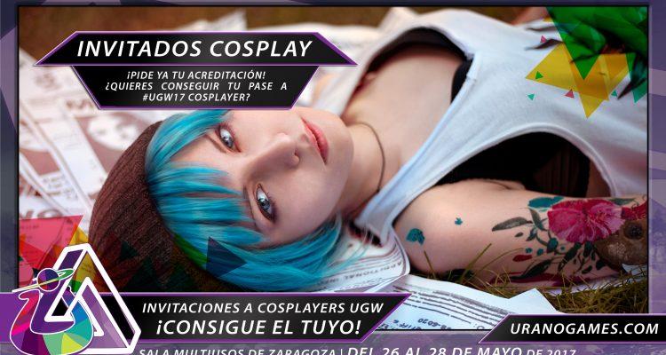 Publicidad General de Cosplayers Invitados con Urano Games