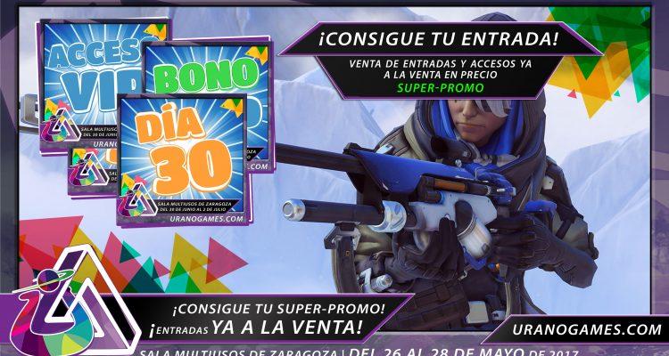 Venta Entradas Urano Games