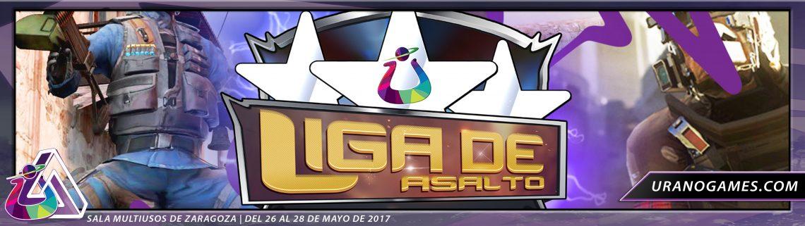 Liga de Asalto Torneos Videojuegos Urano Games