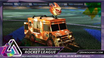 Rocket League Torneos Videojuegos y ESports Urano Games